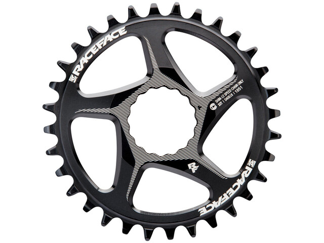 Race Face DM Cinch Chainring 12-speed 32T for Shimano black